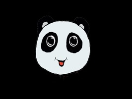 StareStick is a sticker pack of panda emojis with an expression bubble of how the panda feels