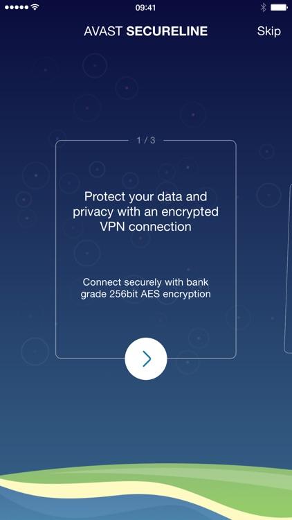VPN SecureLine - privacy & security by Avast app image
