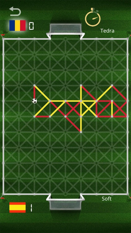 Kick it - Paper Soccer screenshot-3