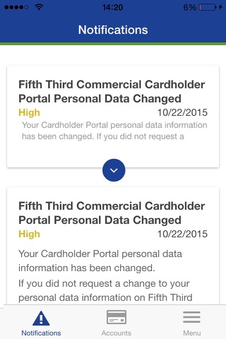 Fifth Third Commercial Card screenshot 4