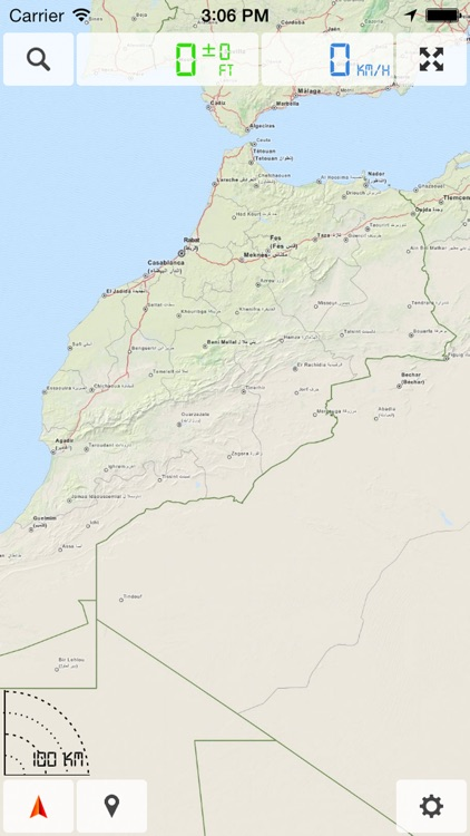 Morocco - Offline Map & GPS Navigator screenshot-0