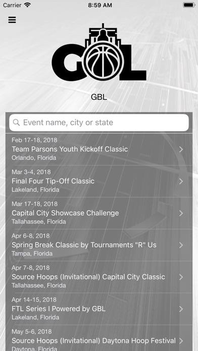 GBL Online Screenshot