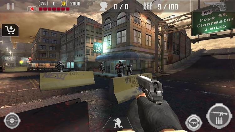 Urban Commando Shooting Blackout 3D screenshot-3