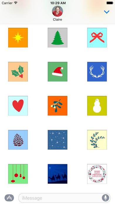 Screen Shot Advent Stickers 2