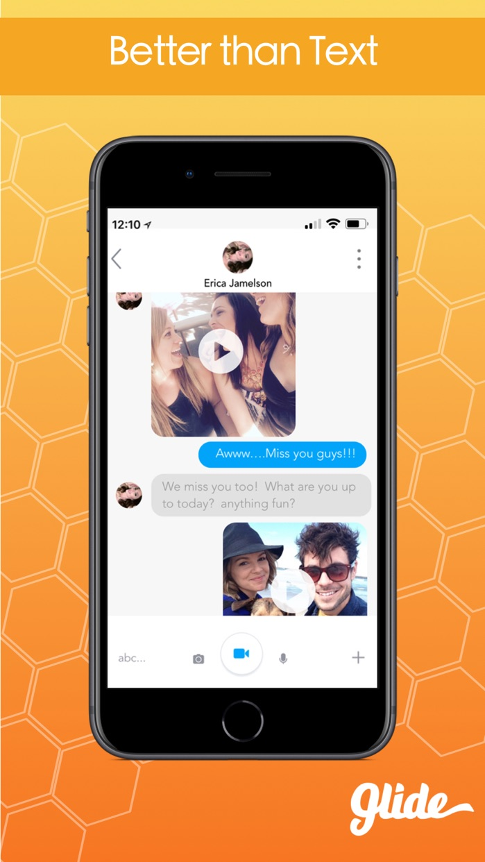 Glide - Live Video Messenger Screenshot