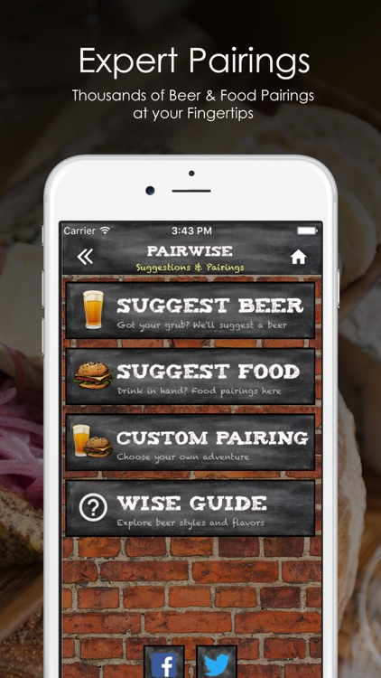 PairWise - Beer and Food Pairing