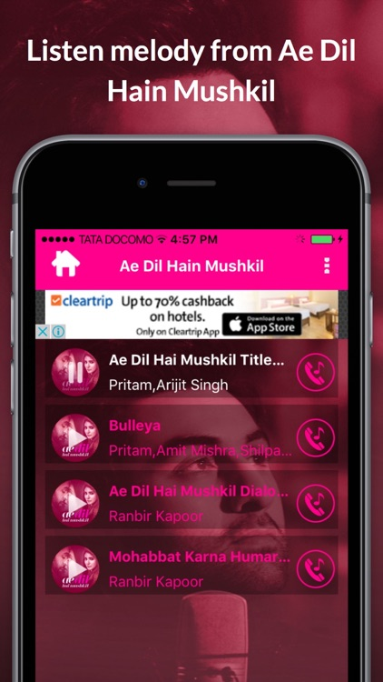 Ae Dil Hain Mushkil Movie Songs screenshot-2