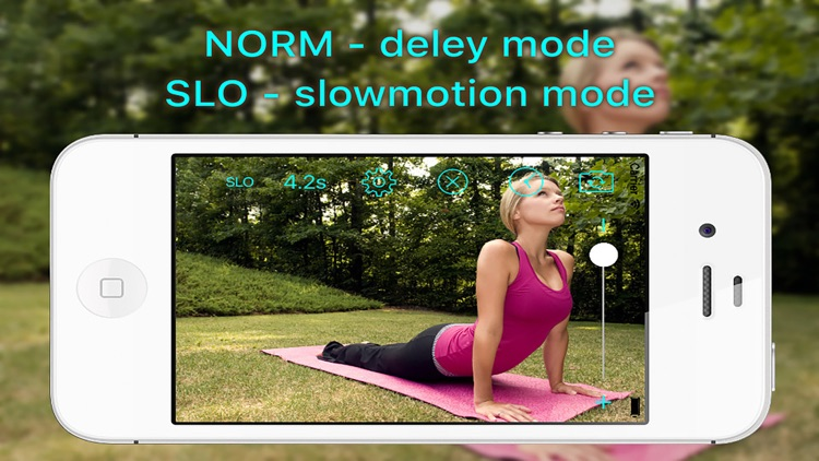 Video Delay With Slow Motion Sport Fit Camera Pro