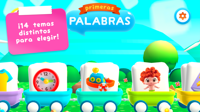 Mis primeras palabras aprender a hablar con juegos - Puzzles para ninos pequenos ...