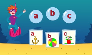 ABC - Learn to read letters with teacher Tilly