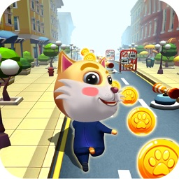 Cute Cat Subway Gold Run