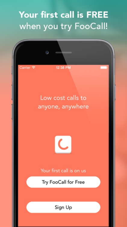 Cheap International Calls | FooCall app image