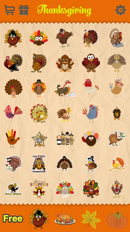 Thanksgiving Day Emoji Pro - Holiday Emoticon Stickers for Messages & Greetings screenshot-2