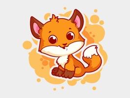 Fox Fun Emojis Stickers