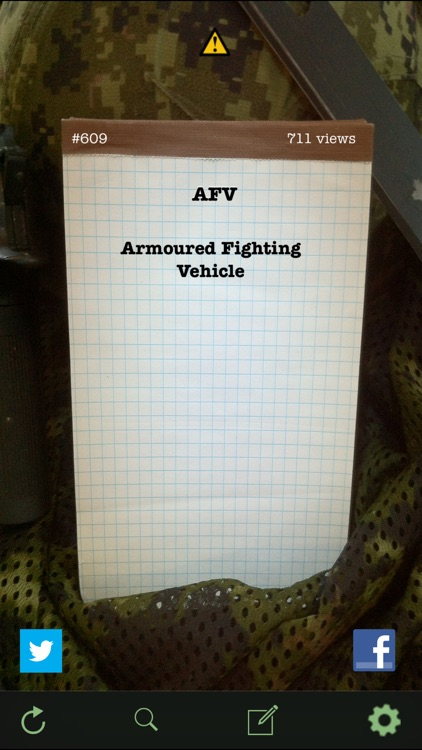 Military Terms & Acronyms