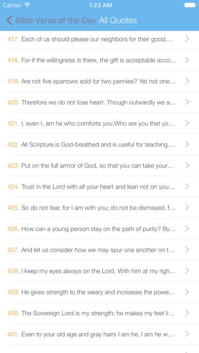 Bible Verse of the Day Free screenshot four