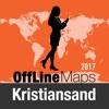 Kristiansand mapa offline y guía de viaje
