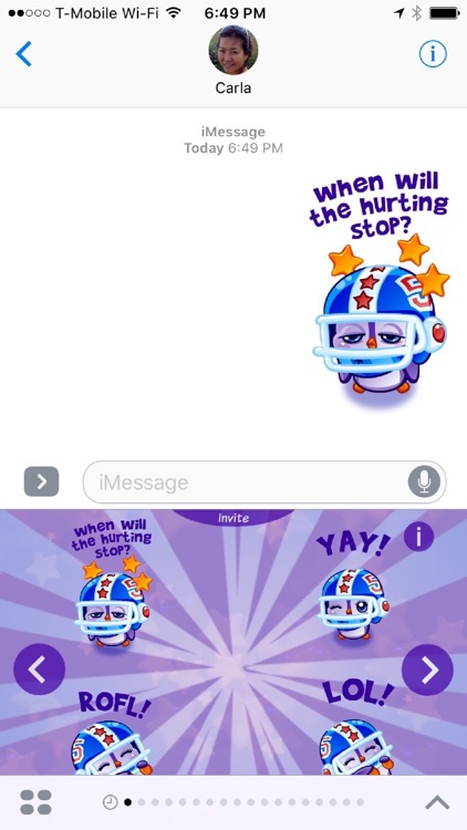 Pigu Animated Stickers