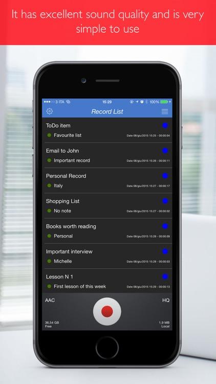 Private Voice Recorder Pro screenshot-3