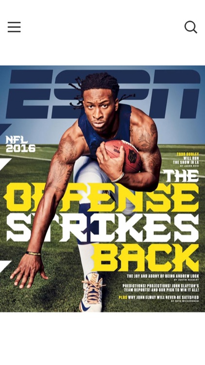 ESPN The Magazine screenshot-0
