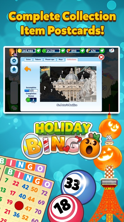 Holiday Bingo - FREE Bingo and Slots Game screenshot-3