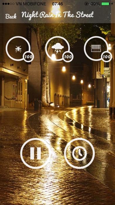 Relax Rain Sounds - Relaxing Sounds for Yoga screenshot three