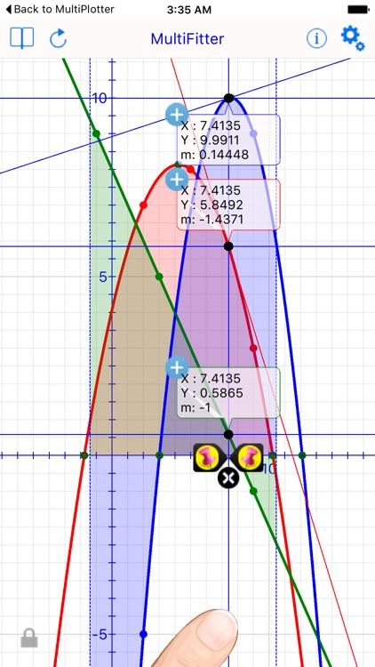 Multi Fit Graph Calculator screenshot-0