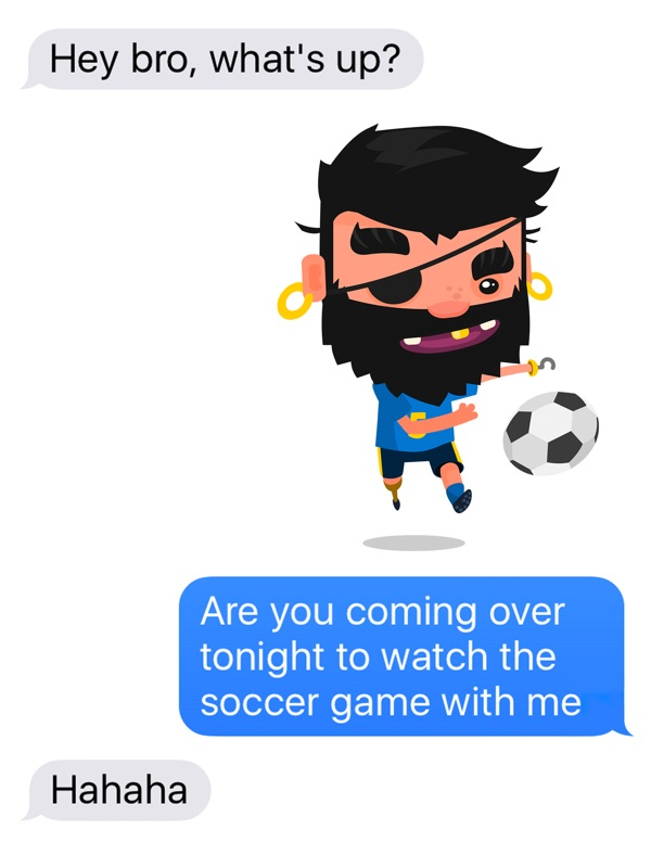 Pirate Kings Stickers for Apple iMessage Online Hack Tool