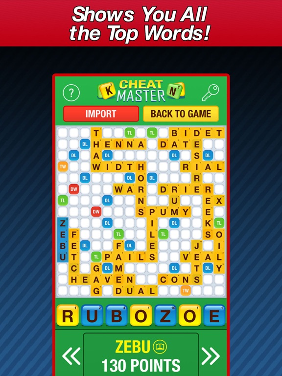 cheat words for words with friends 2