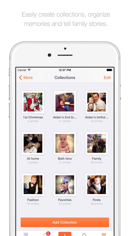 23snaps - Family Album and Private Photo Sharing screenshot-3