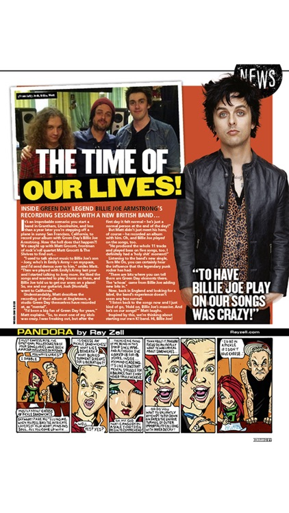 Kerrang! Magazine - from heavy metal to punk