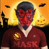 万圣节怪物面具照片贴纸制造商免费