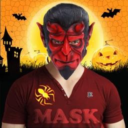 Halloween Monster Masks Photo Sticker Maker Free