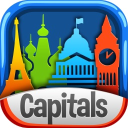 World Capitals Trivia Quiz – Geography Knowledge Game for Kids and Adult.s