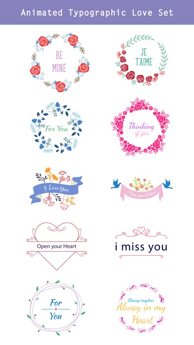 Happy Love Stickers - Animated screenshot 3