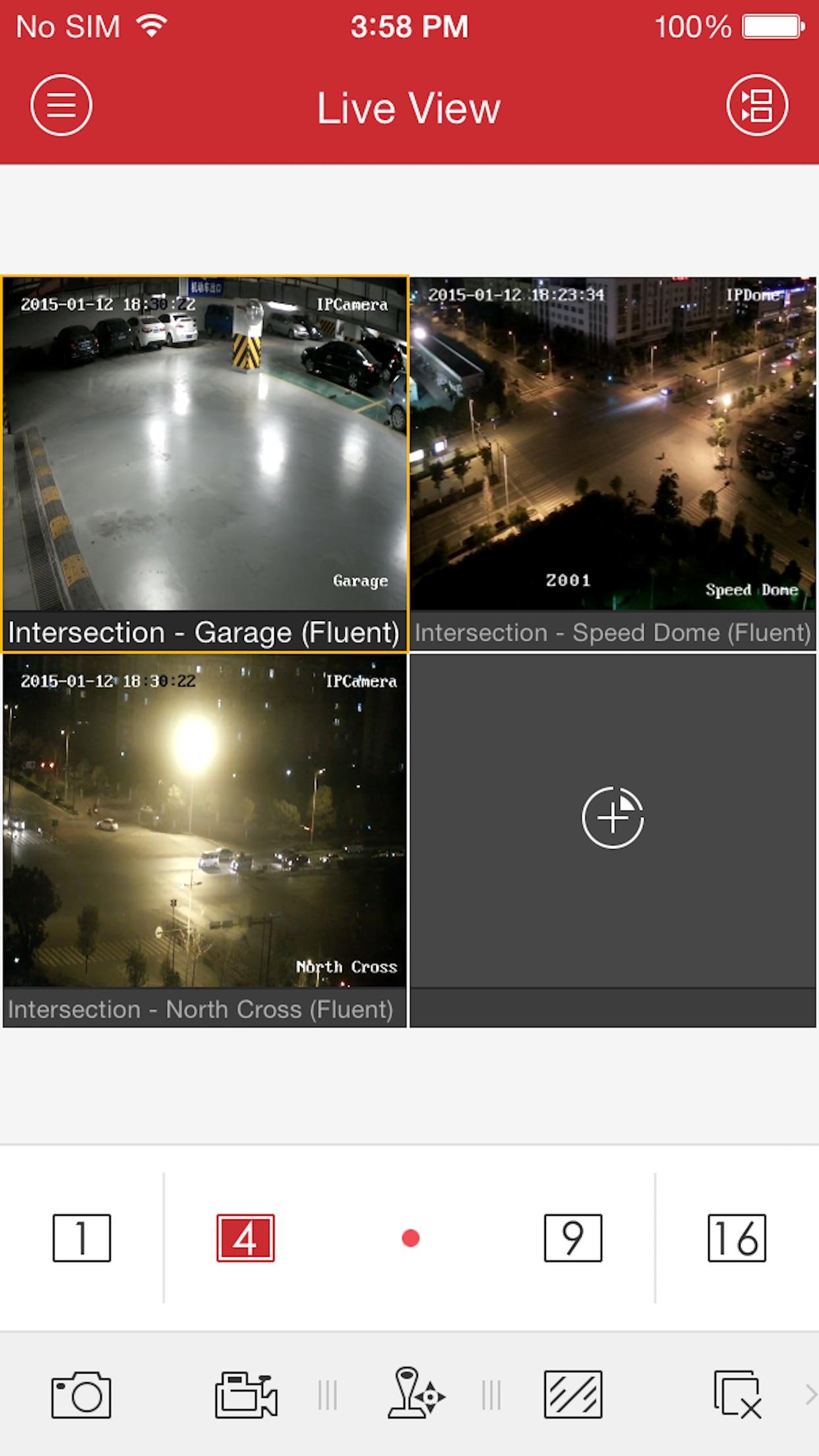 iVMS-4500 lite Screenshot