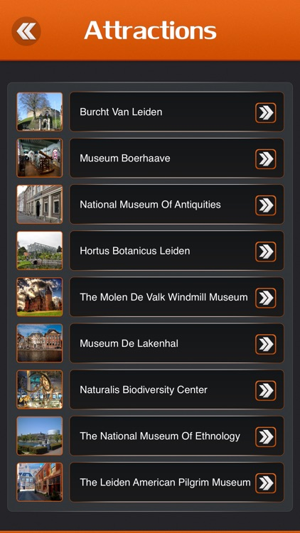 Leiden Tourist Guide