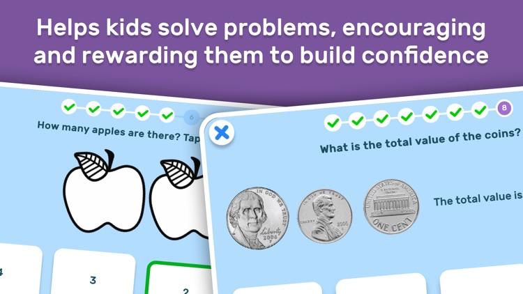 GO Math! GO – Fun learning for grades K, 1st & 2nd screenshot-3