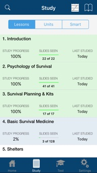 Army Survival Study Guide iphone images