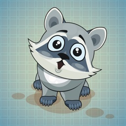 Sticker Me: Funny Raccoon