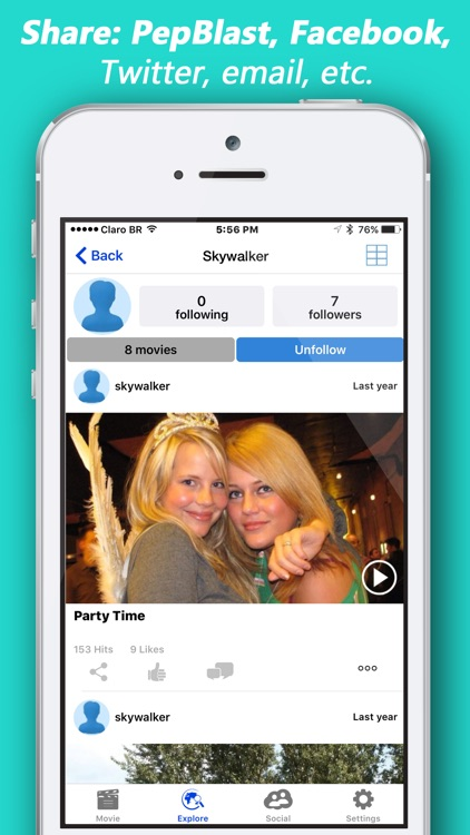 PepBlast Slide Show Maker with Music Pic Slideshow screenshot-4