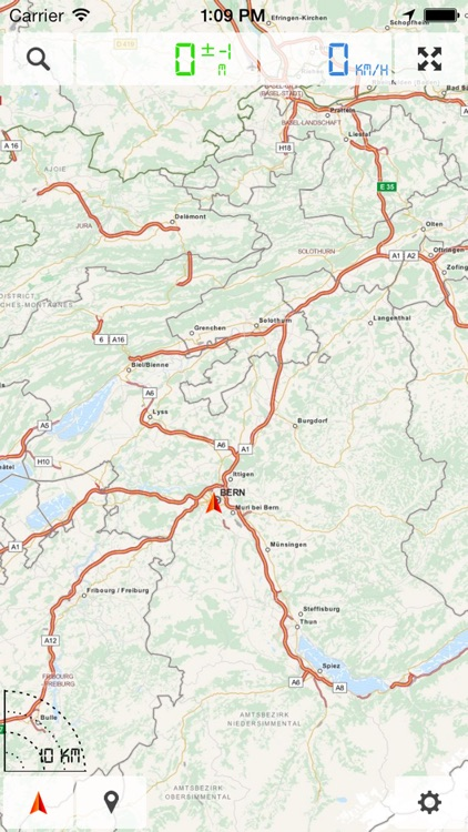 Western Europe, European Union (EU) - Offline Map & GPS Navigator