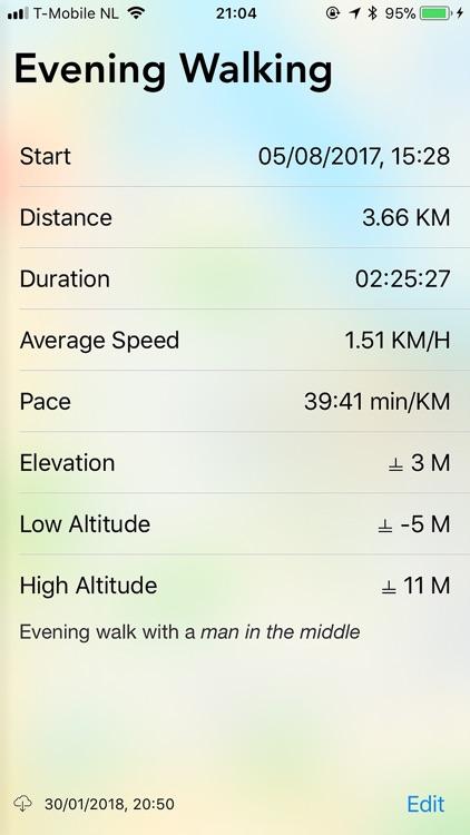 Traces GPS Tracker screenshot-3