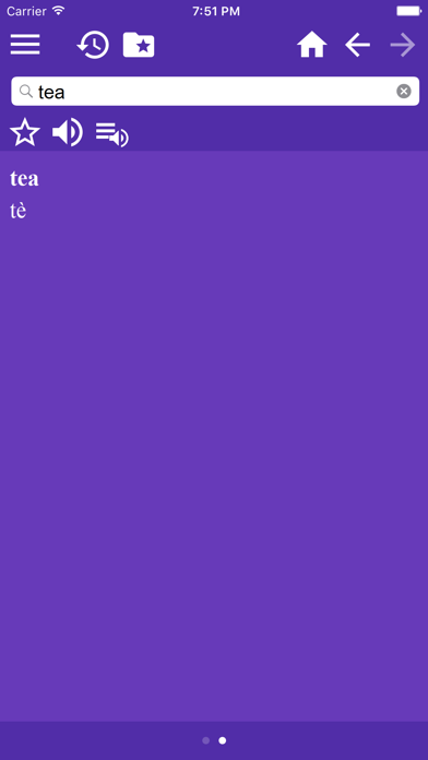 English Italian Dictionary screenshot two