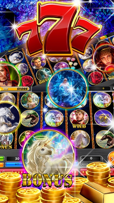 Lucky Unicorn Slots Enchanted Slot Machine Big Win