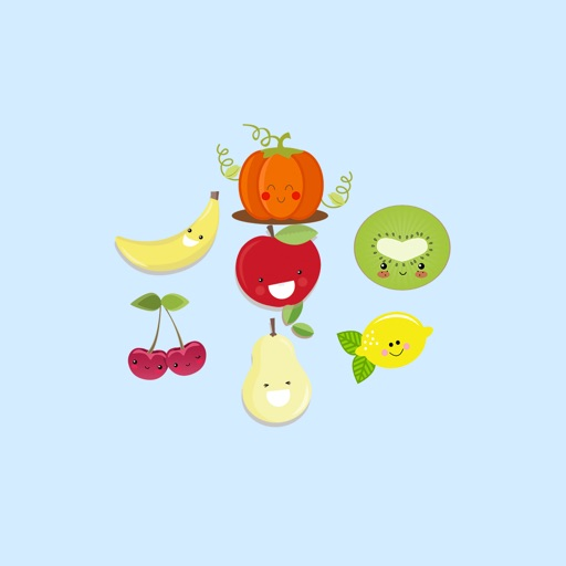 Happy Fruit  - Fx Sticker