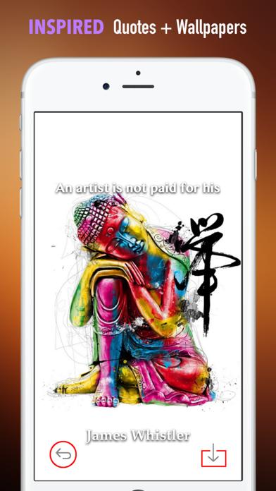 仏教芸術の壁紙HD:引用のおすすめ画像5