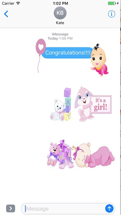 Baby Stickers HD