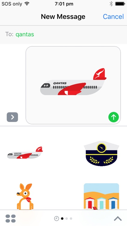 Qantas Stickers screenshot-3
