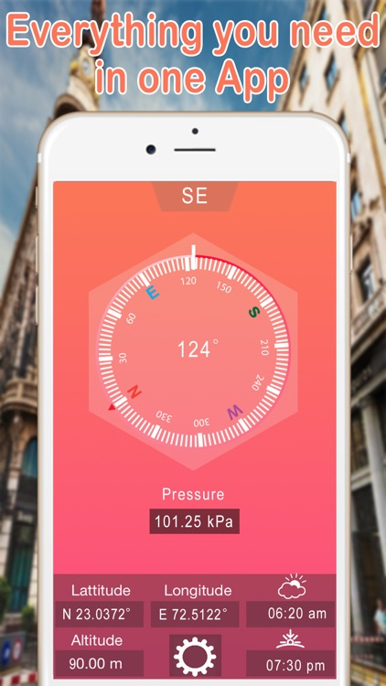 Heading GPS Compass | Compass Altimeter screenshot-2